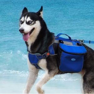 NWT Think Pet backpack leash set size small